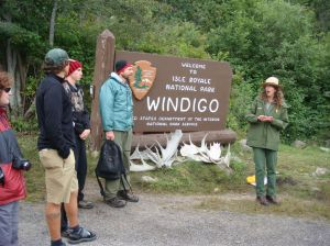 Orientation at the Windigo Visitor Center