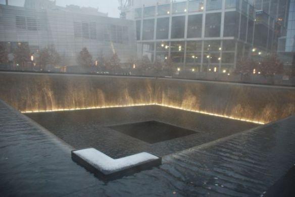 South Pool of the 9/11 Memorial.